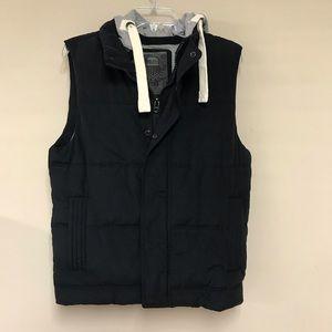 21Men vest hoodie